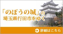 「のぼうの城」の埼玉県行田市をゆく